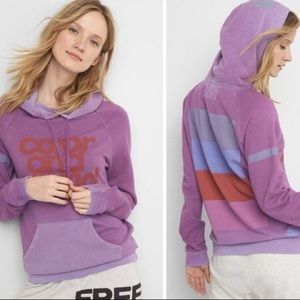 Free City x Gap Color and Sound Pullover Hoodie